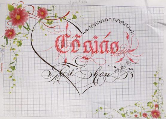 chu viet dep 67 555x400 - Bộ sưu tập chữ viết tay, chữ viết hoa sáng tạo, chữ nghệ thuật đẹp