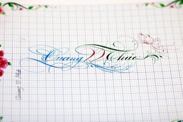 chu viet dep 69 600x400 - Bộ sưu tập chữ viết tay, chữ viết hoa sáng tạo, chữ nghệ thuật đẹp