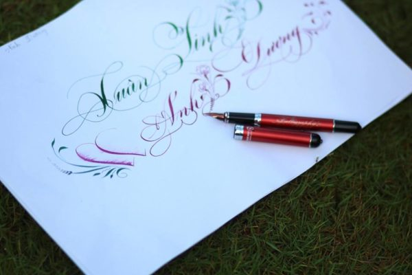 chu viet dep 72 600x400 - Bộ sưu tập chữ viết tay, chữ viết hoa sáng tạo, chữ nghệ thuật đẹp