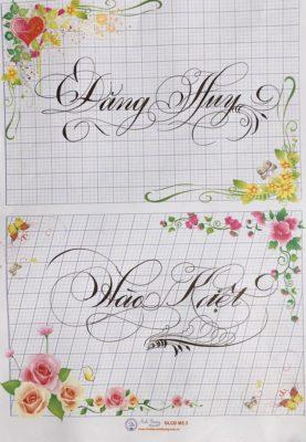 chu viet dep 73 277x400 - Bộ sưu tập chữ viết tay, chữ viết hoa sáng tạo, chữ nghệ thuật đẹp