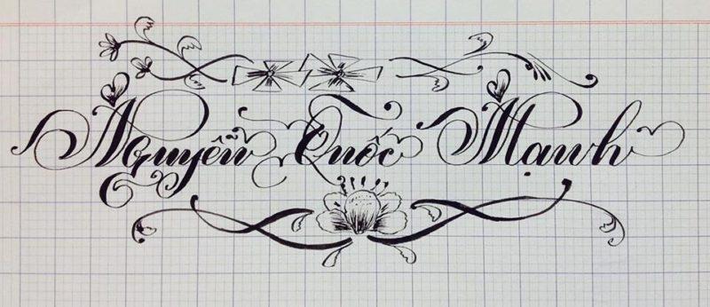 chu viet dep 8 800x346 - Bộ sưu tập chữ viết tay, chữ viết hoa sáng tạo, chữ nghệ thuật đẹp