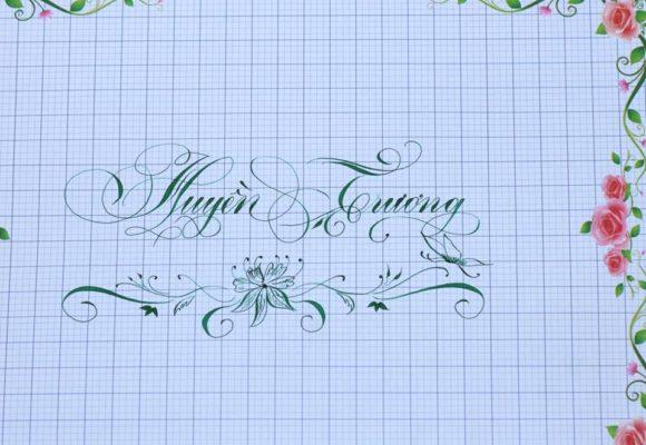 chu viet dep 9 580x400 - Bộ sưu tập chữ viết tay, chữ viết hoa sáng tạo, chữ nghệ thuật đẹp