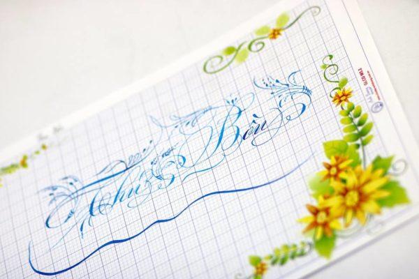 mau chu viet tay dep 12 600x400 - Bộ sưu tập chữ viết tay, chữ viết hoa sáng tạo, chữ nghệ thuật đẹp