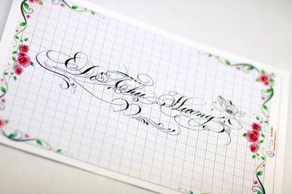 mau chu viet tay dep 16 600x400 - Bộ sưu tập chữ viết tay, chữ viết hoa sáng tạo, chữ nghệ thuật đẹp