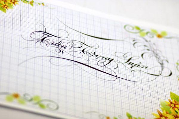 mau chu viet tay dep 18 600x400 - Bộ sưu tập chữ viết tay, chữ viết hoa sáng tạo, chữ nghệ thuật đẹp