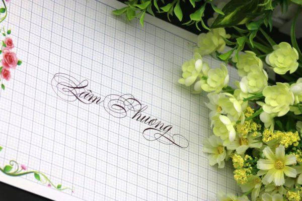 mau chu viet tay dep 19 e1538120917186 600x400 - Bộ sưu tập chữ viết tay, chữ viết hoa sáng tạo, chữ nghệ thuật đẹp