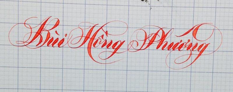 mau chu viet tay dep 20 800x317 - Bộ sưu tập chữ viết tay, chữ viết hoa sáng tạo, chữ nghệ thuật đẹp