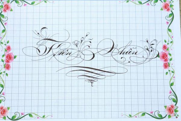 mau chu viet tay dep 21 600x400 - Bộ sưu tập chữ viết tay, chữ viết hoa sáng tạo, chữ nghệ thuật đẹp