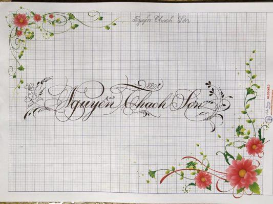 mau chu viet tay dep 22 533x400 - Bộ sưu tập chữ viết tay, chữ viết hoa sáng tạo, chữ nghệ thuật đẹp