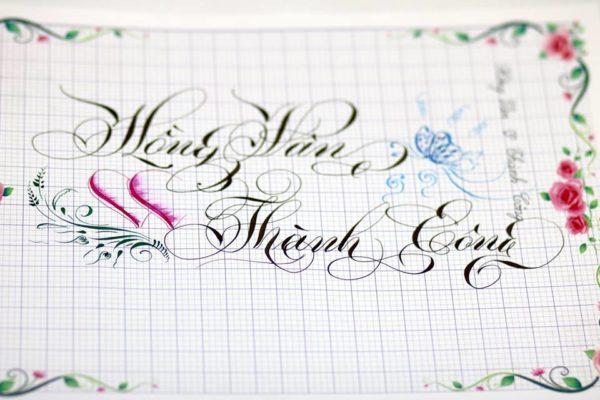 mau chu viet tay dep 29 600x400 - Bộ sưu tập chữ viết tay, chữ viết hoa sáng tạo, chữ nghệ thuật đẹp