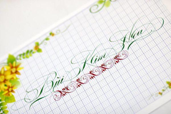 mau chu viet tay dep 30 600x400 - Bộ sưu tập chữ viết tay, chữ viết hoa sáng tạo, chữ nghệ thuật đẹp