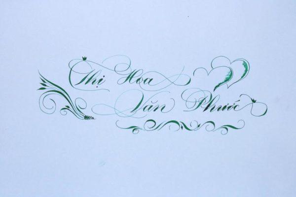 mau chu viet tay dep 33 600x400 - Bộ sưu tập chữ viết tay, chữ viết hoa sáng tạo, chữ nghệ thuật đẹp