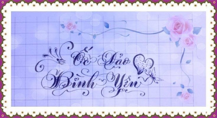mau chu viet tay dep 35 736x400 - Bộ sưu tập chữ viết tay, chữ viết hoa sáng tạo, chữ nghệ thuật đẹp