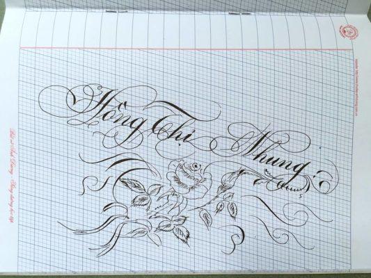 mau chu viet tay dep 38 533x400 - Bộ sưu tập chữ viết tay, chữ viết hoa sáng tạo, chữ nghệ thuật đẹp