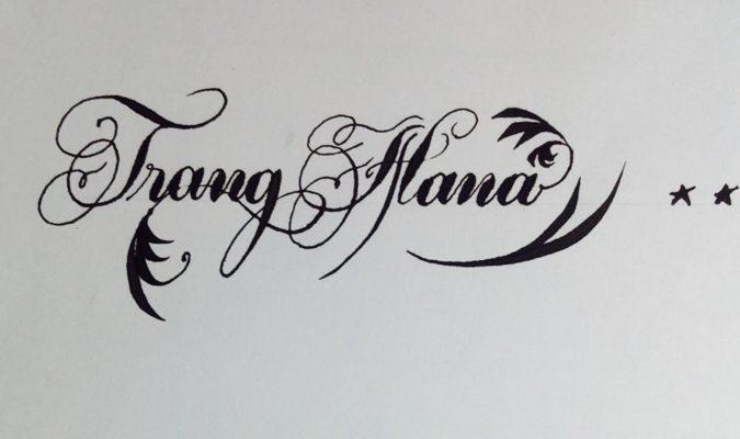 mau chu viet tay dep 4 675x400 - Bộ sưu tập chữ viết tay, chữ viết hoa sáng tạo, chữ nghệ thuật đẹp