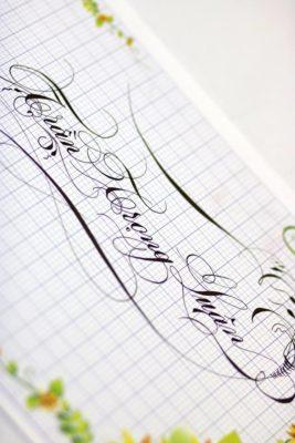 mau chu viet tay dep 41 267x400 - Bộ sưu tập chữ viết tay, chữ viết hoa sáng tạo, chữ nghệ thuật đẹp
