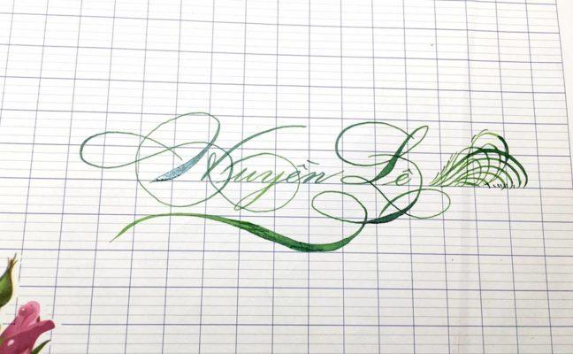 mau chu viet tay dep 44 648x400 - Bộ sưu tập chữ viết tay, chữ viết hoa sáng tạo, chữ nghệ thuật đẹp