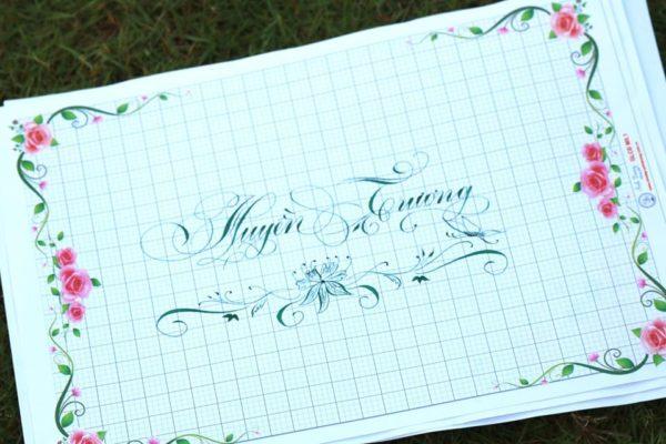 mau chu viet tay dep 45 600x400 - Bộ sưu tập chữ viết tay, chữ viết hoa sáng tạo, chữ nghệ thuật đẹp