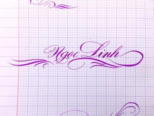 mau chu viet tay dep 47 533x400 - Bộ sưu tập chữ viết tay, chữ viết hoa sáng tạo, chữ nghệ thuật đẹp