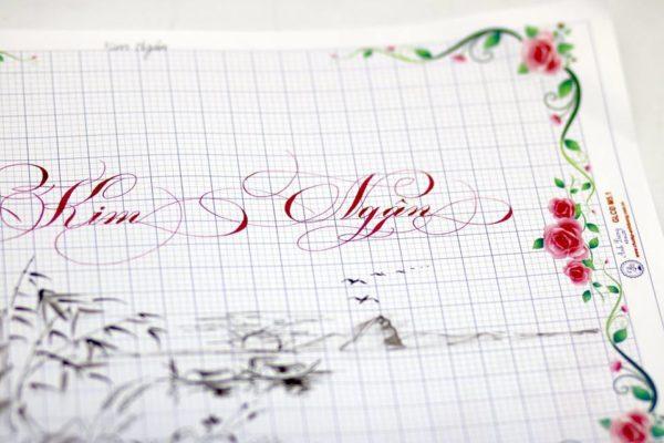mau chu viet tay dep 5 600x400 - Bộ sưu tập chữ viết tay, chữ viết hoa sáng tạo, chữ nghệ thuật đẹp