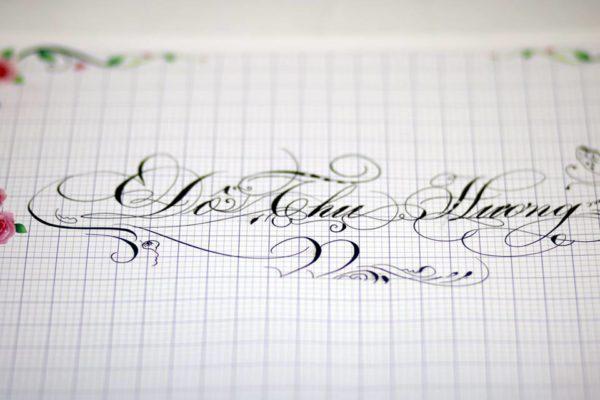 mau chu viet tay dep 7 600x400 - Bộ sưu tập chữ viết tay, chữ viết hoa sáng tạo, chữ nghệ thuật đẹp