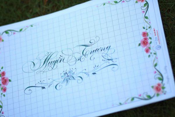 mau chu viet tay dep 9 600x400 - Bộ sưu tập chữ viết tay, chữ viết hoa sáng tạo, chữ nghệ thuật đẹp