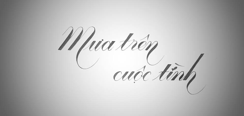 chu hoa sang tao 8 - Mẫu chữ cách điệu, chữ hoa sáng tạo, chữ nghệ thuật trong luyện chữ đẹp