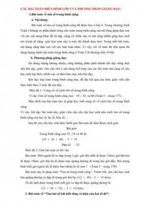 cac bai toan dien hinh lop 5 283x400 - Tổng hợp tài liệu, bài giảng, chuyên đề dành cho học sinh lớp 1 đến lớp 5