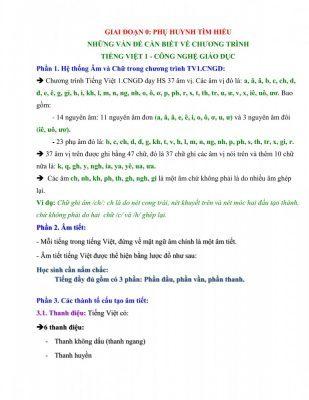 phu huynh tim hieu nhung van de can biet ve chuong trinh 309x400 - Tổng hợp tài liệu, bài giảng, chuyên đề dành cho học sinh lớp 1 đến lớp 5