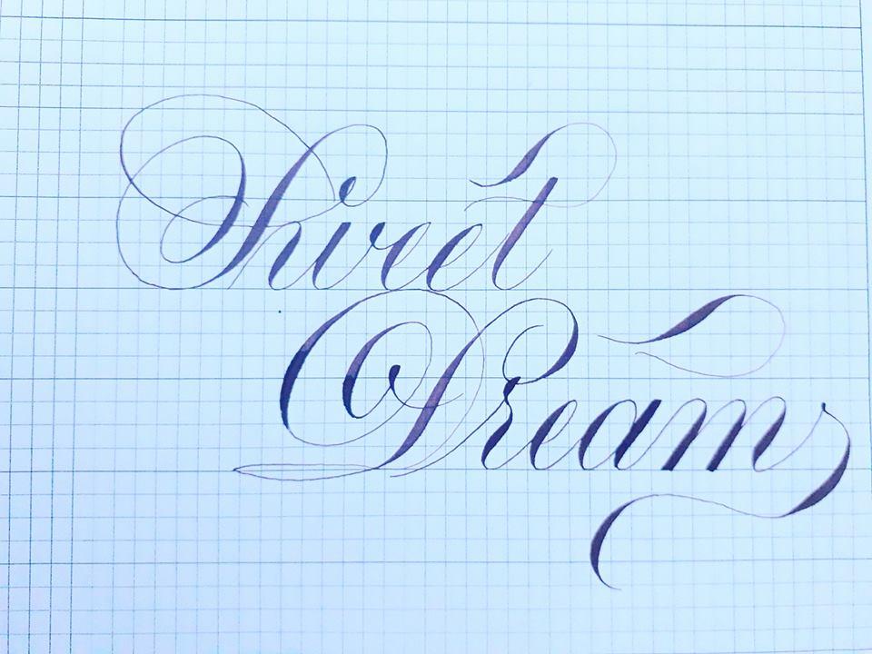 but la tre 1 - Bút lá tre trong luyện chữ đẹp, chữ sáng tạo, chữ nghệ thuật, thi viết đẹp