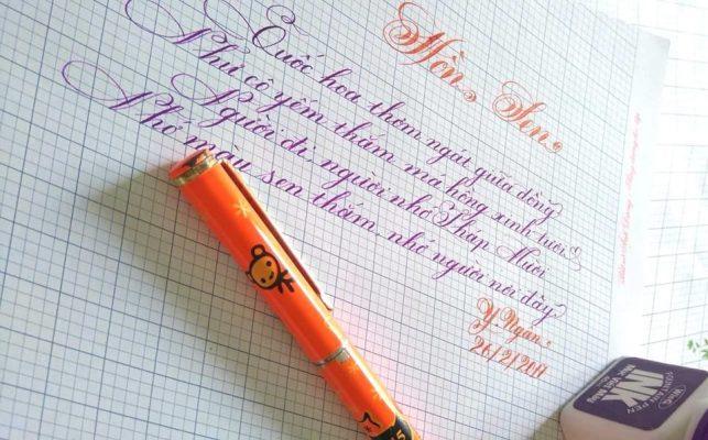 cach viet chu dep 643x400 - Cách viết chữ đẹp qua mẫu chữ đẹp và phương pháp luyện viết chữ đẹp