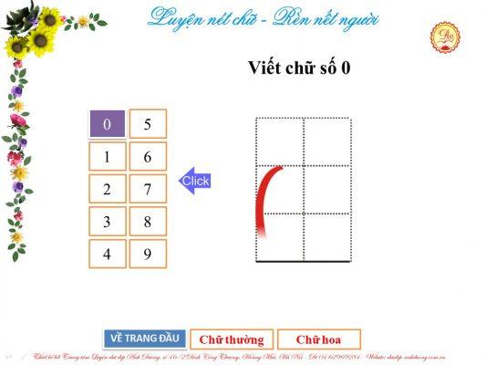 luyen viet chu so 0 533x400 - Hướng dẫn trẻ luyện viết chữ số từ 0 - 3 đơn giản, hiệu quả