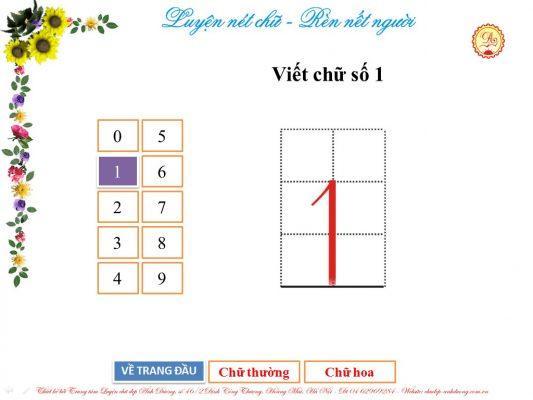 luyen viet chu so 1 533x400 - Hướng dẫn trẻ luyện viết chữ số từ 0 - 3 đơn giản, hiệu quả
