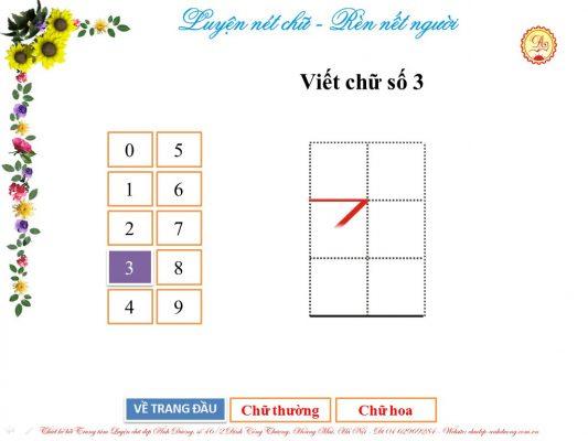 luyen viet chu so 3 533x400 - Hướng dẫn trẻ luyện viết chữ số từ 0 - 3 đơn giản, hiệu quả