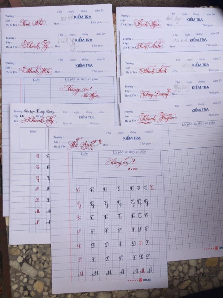 chia nhom chu de luyen chu dep 2 - Chia nhóm chữ - phương pháp luyện viết chữ đẹp thông minh