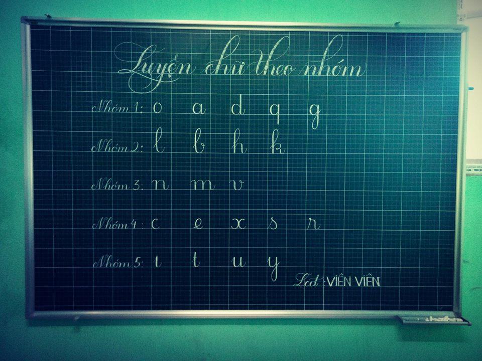 chia nhom chu de luyen chu dep 3 - Chia nhóm chữ - phương pháp luyện viết chữ đẹp thông minh