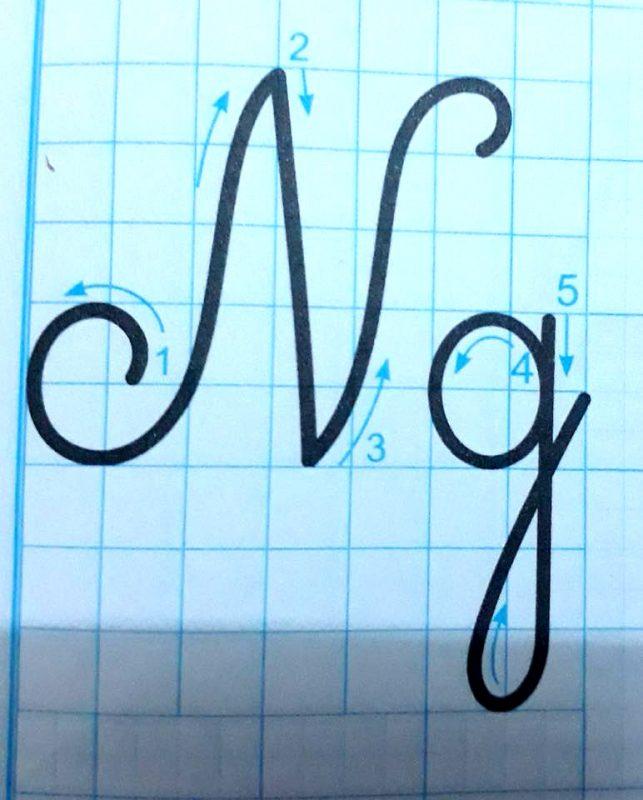 ky thuat noi chu 10 643x800 - Kỹ thuật nối chữ và đặt dấu thanh khi tập viết và luyện chữ đẹp