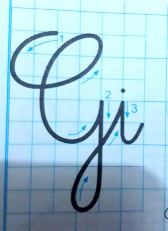 ky thuat noi chu 12 582x800 - Kỹ thuật nối chữ và đặt dấu thanh khi tập viết và luyện chữ đẹp