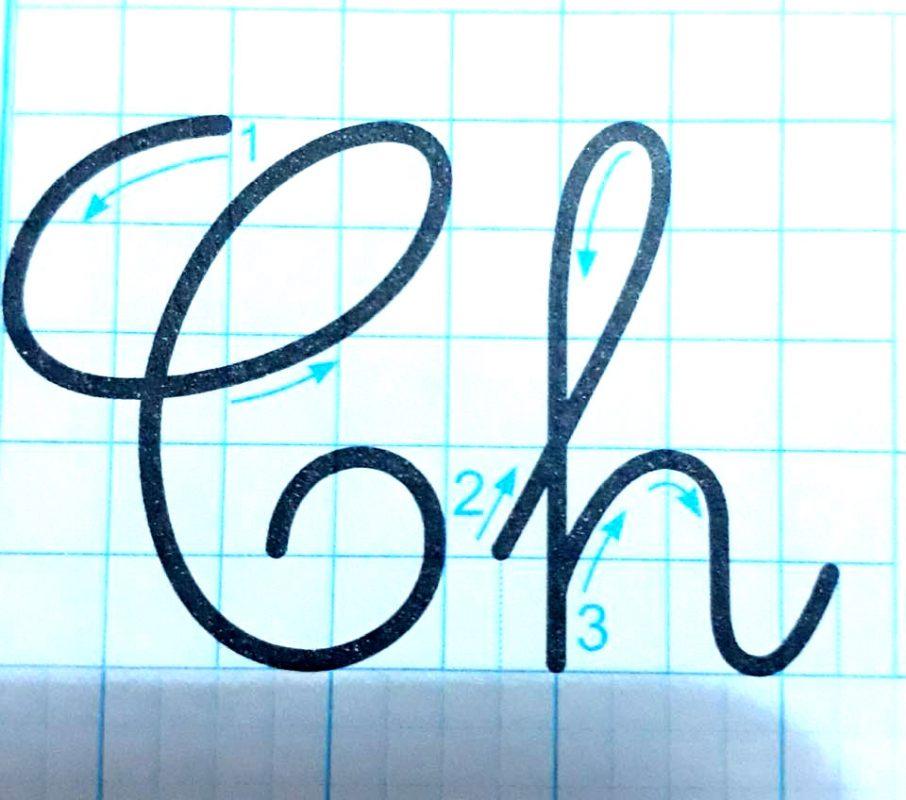 ky thuat noi chu 16 906x800 - Kỹ thuật nối chữ và đặt dấu thanh khi tập viết và luyện chữ đẹp
