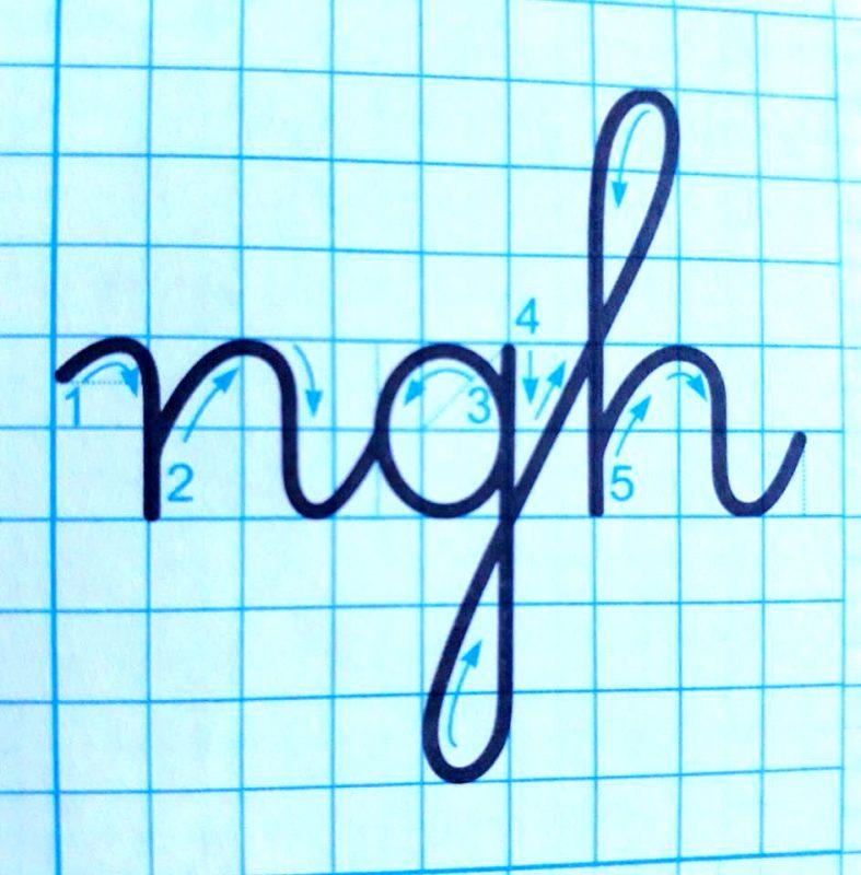ky thuat noi chu 18 787x800 - Kỹ thuật nối chữ và đặt dấu thanh khi tập viết và luyện chữ đẹp