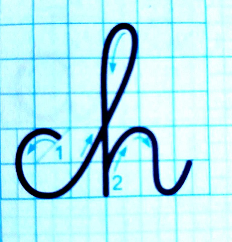 ky thuat noi chu 5 768x800 - Kỹ thuật nối chữ và đặt dấu thanh khi tập viết và luyện chữ đẹp