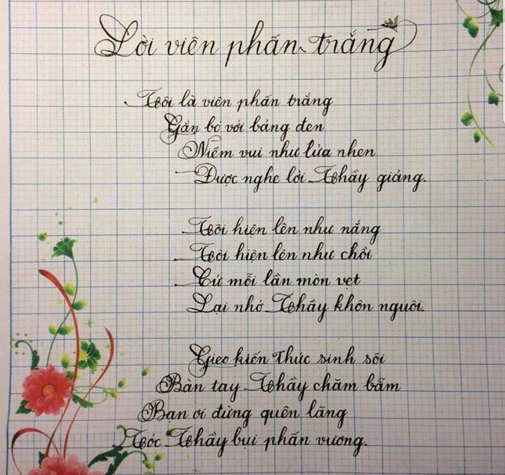mau luyen viet chu 4 - Chiêm ngưỡng một số mẫu luyện viết chữ đẹp như in