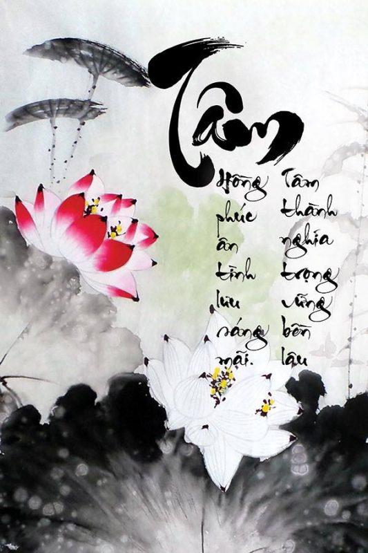 chữ thư pháp Việt