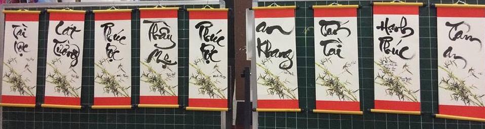 viet chu thu phap 5 - Nghệ thuật viết chữ thư pháp có nguồn gốc từ đâu?