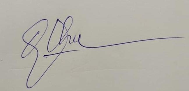cach ky ten bang tay 1 - Mách bạn cách ký tên bằng tay đẹp không đụng hàng