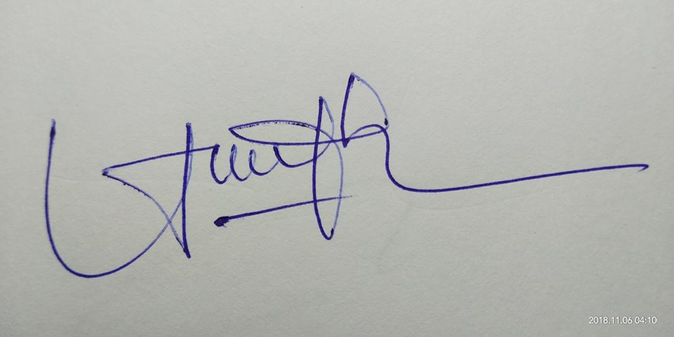 chu ky theo ban menh - Mẫu chữ ký theo bản mệnh giúp bạn thăng quan tiến chức ầm ầm