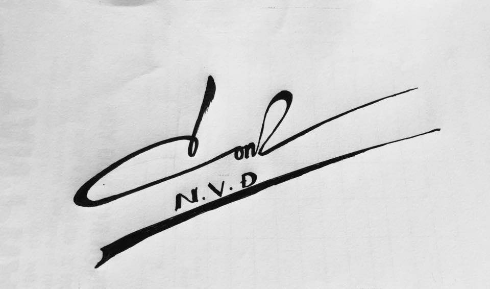 tạo chữ ký riêng